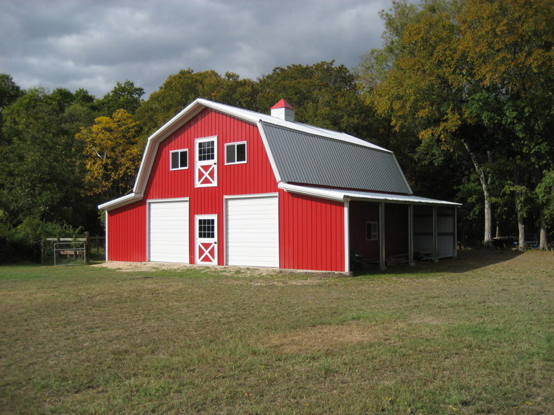House plans that look like barns
